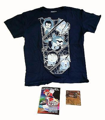 7ebce225 Geek Fuel Exclusive South Park Fractured But Whole Men's Lg T-Shirt &  Magazine