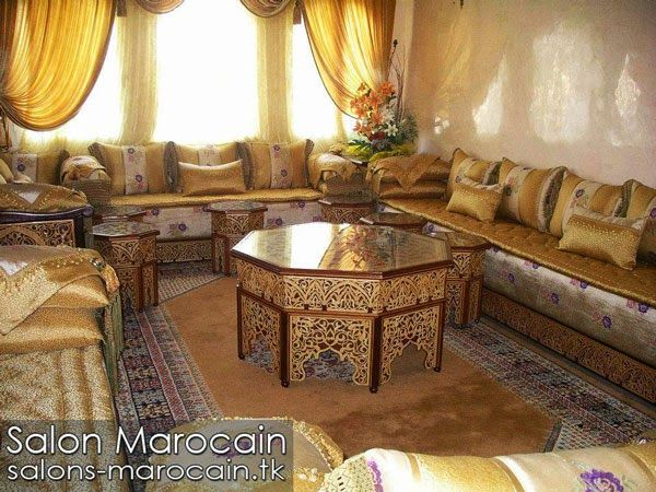 Pin By Aicha Rochdi On Moroccan Living Room Salons