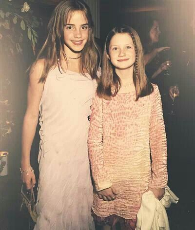 Young Emma and Bonnie