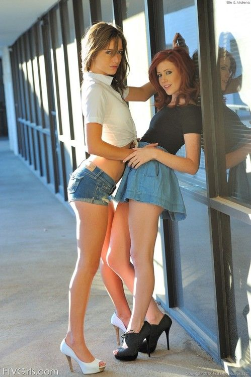 Malena Morgan And Elle Alexandra Omg These Two Are So Sexy Together
