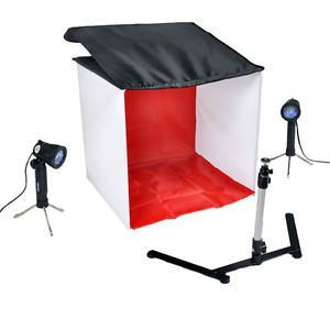 Photography Studio in A Box Tent Light Cube 20 inch 50 cm Square Photo Tent | eBay