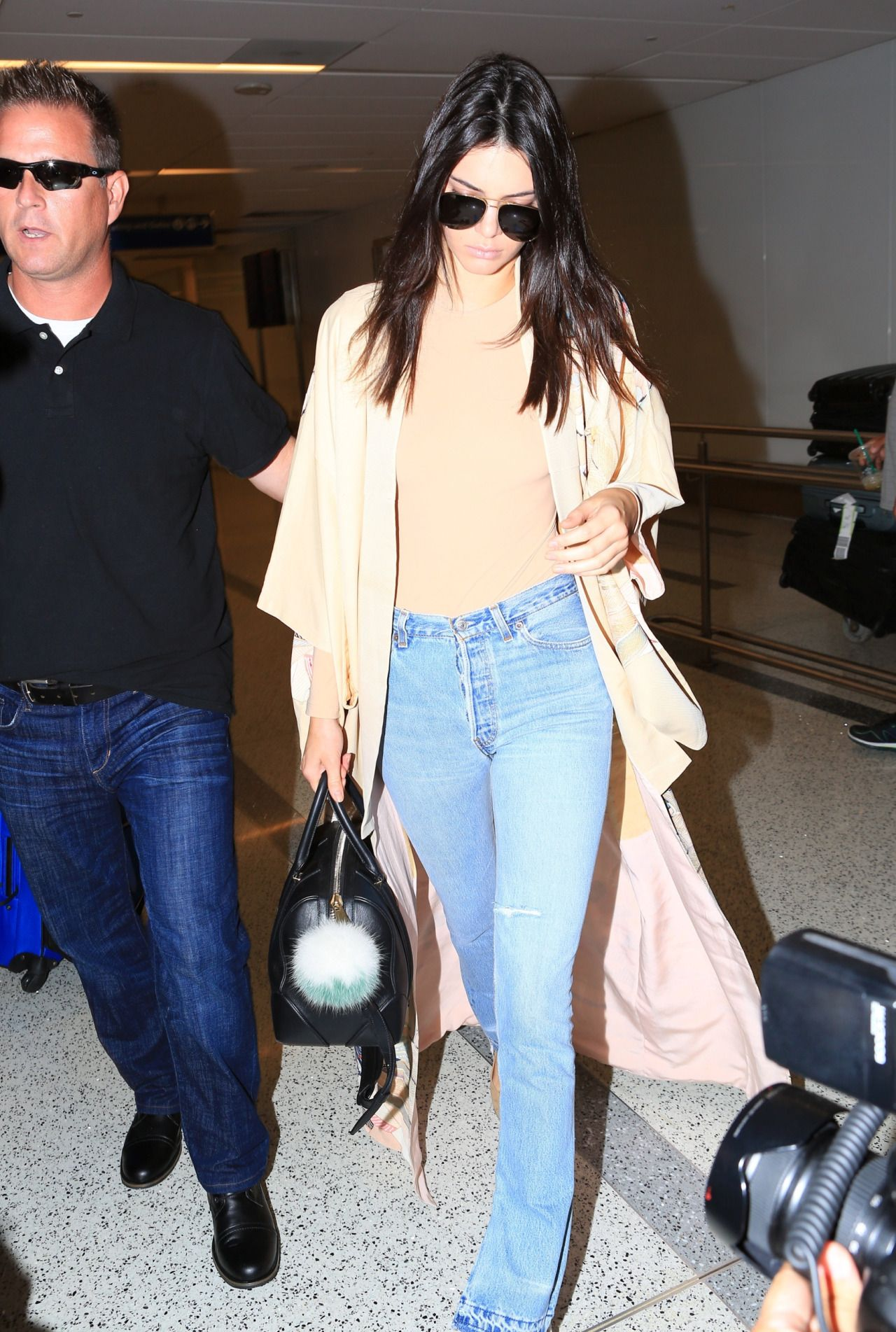 Queen Kendall — kimkardashianarmy: Kendall Jenner arriving at...
