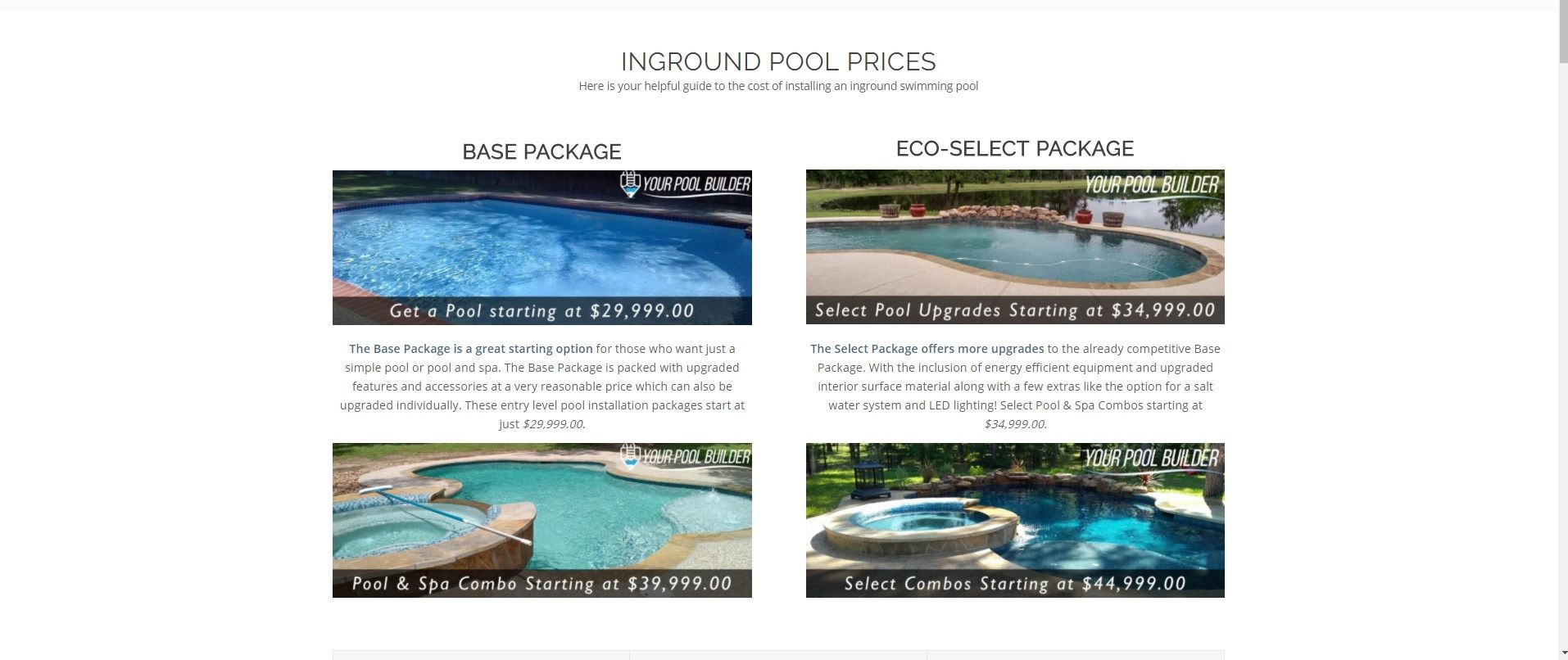 Inground swimming pool design ideas | Inground Pool Prices | Cost ...