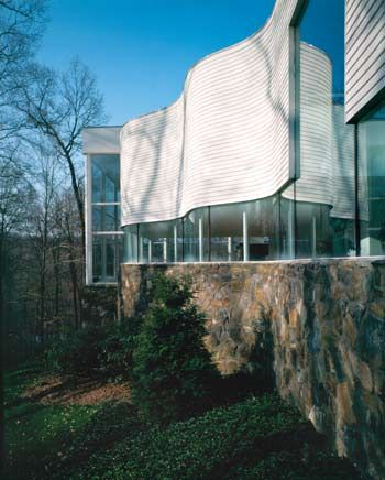The Big Glass House In The Little Woods Westchester Home