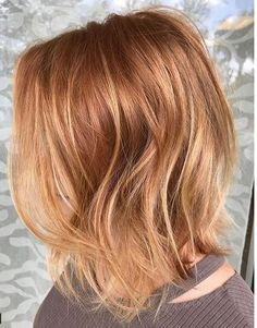 Copper Penny Red Hair Color In 2020 Frisuren Haarfarben Balayage