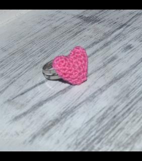 Mini hartjes ring