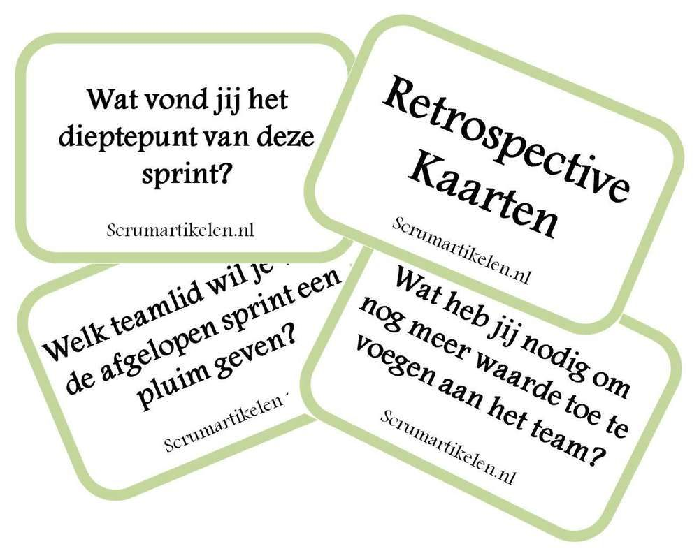 Retrospective Kaarten  Agile    Project Management