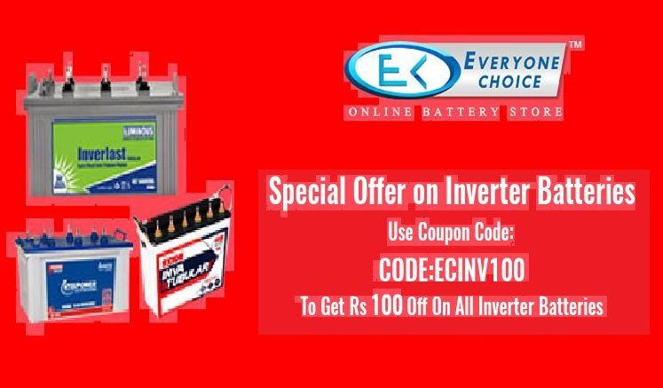Every One Choice Is One Of The Best Inverter Battery Dealer In