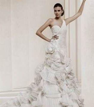 Nice Flamenco Style Wedding Dress 2017