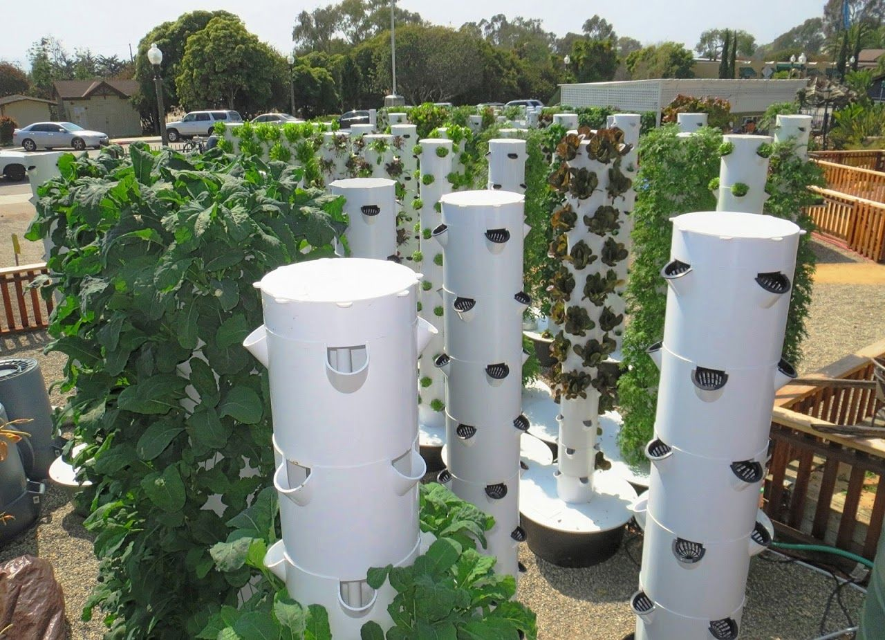 Future Growing Tower Gardens At Montecito Urban Farms