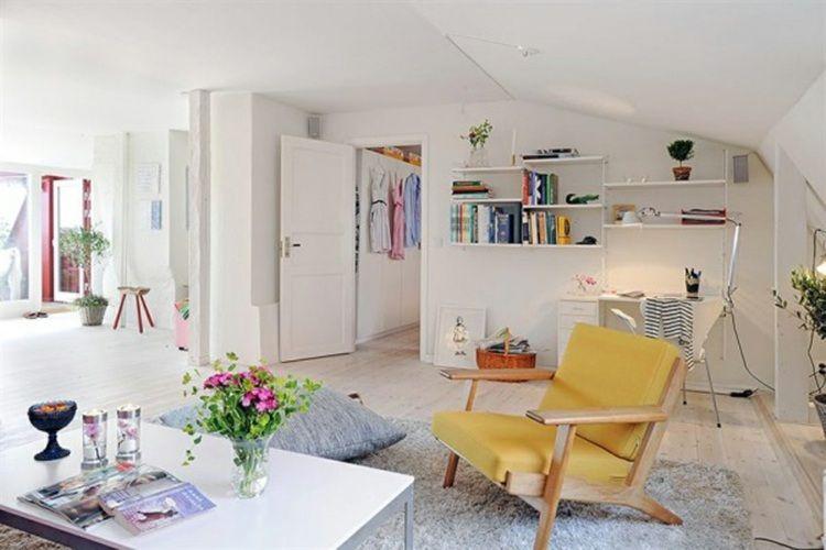 Déco salon scandinave en 75 idées pour intérieur moderne Room - decoration de salon moderne