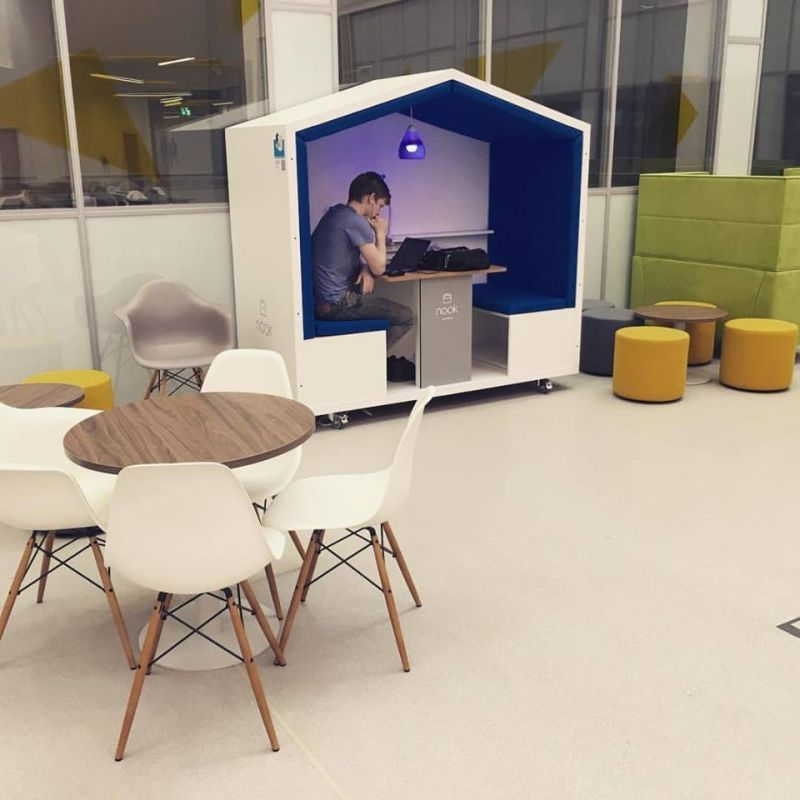 Nook Pod Is Movable Privacy Solution For Modern Workplace Cool
