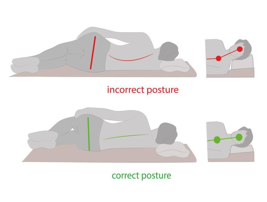 Side Sleeping Position | Tips for Small Home Living | Pinterest