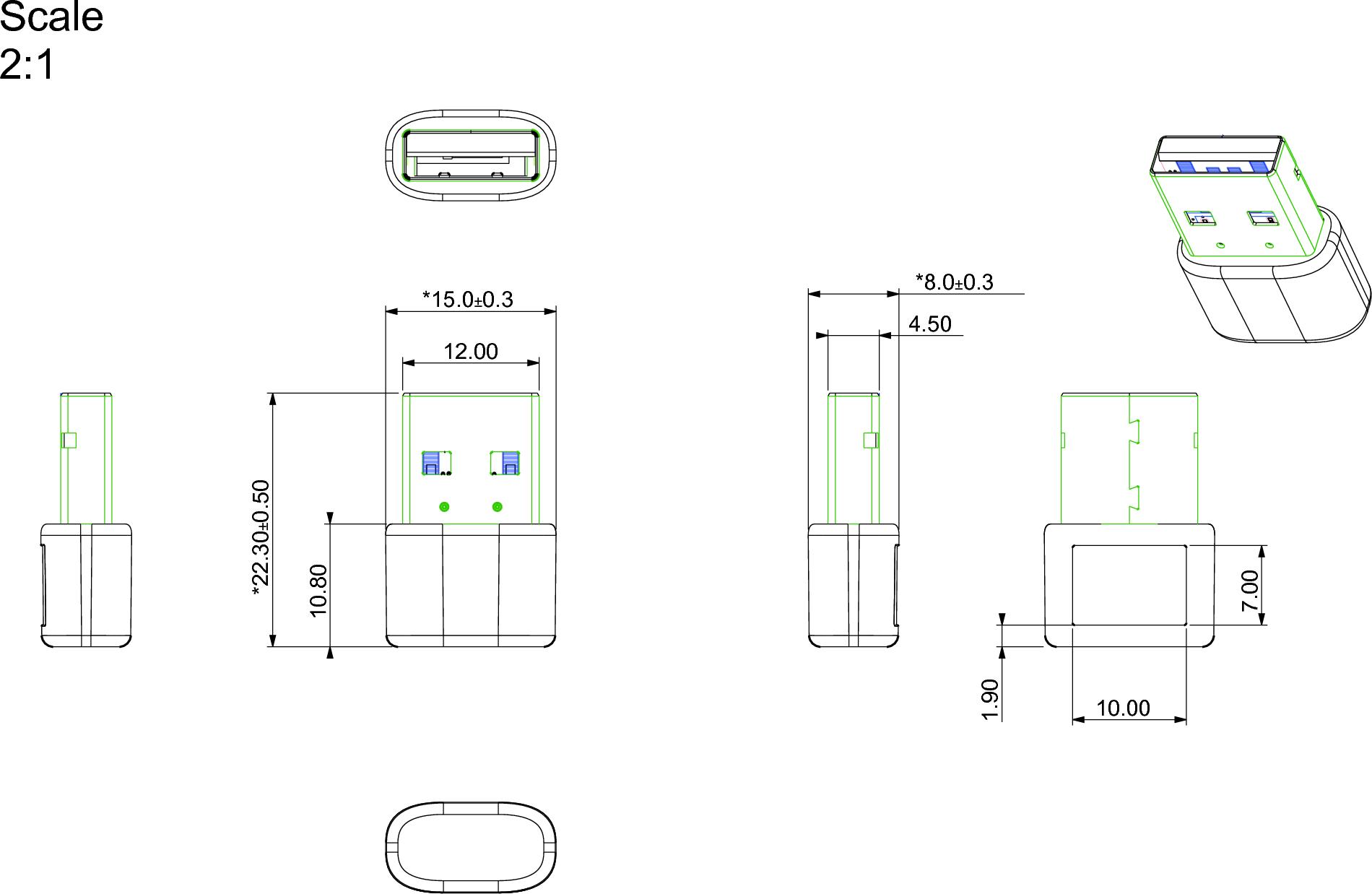 Cc And C Technologies Inc Wlan Usb Adapter N93 Pan N93