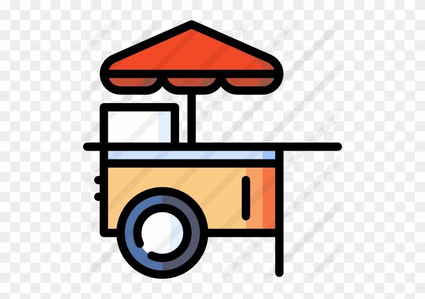 Food Cart Food Cart Clipart Png 751986 Food Cart Hot Dog Cart Food Cartoon