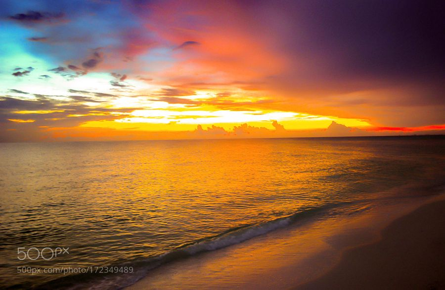 Sunset in Florida by RodrigoCastilloMurillo