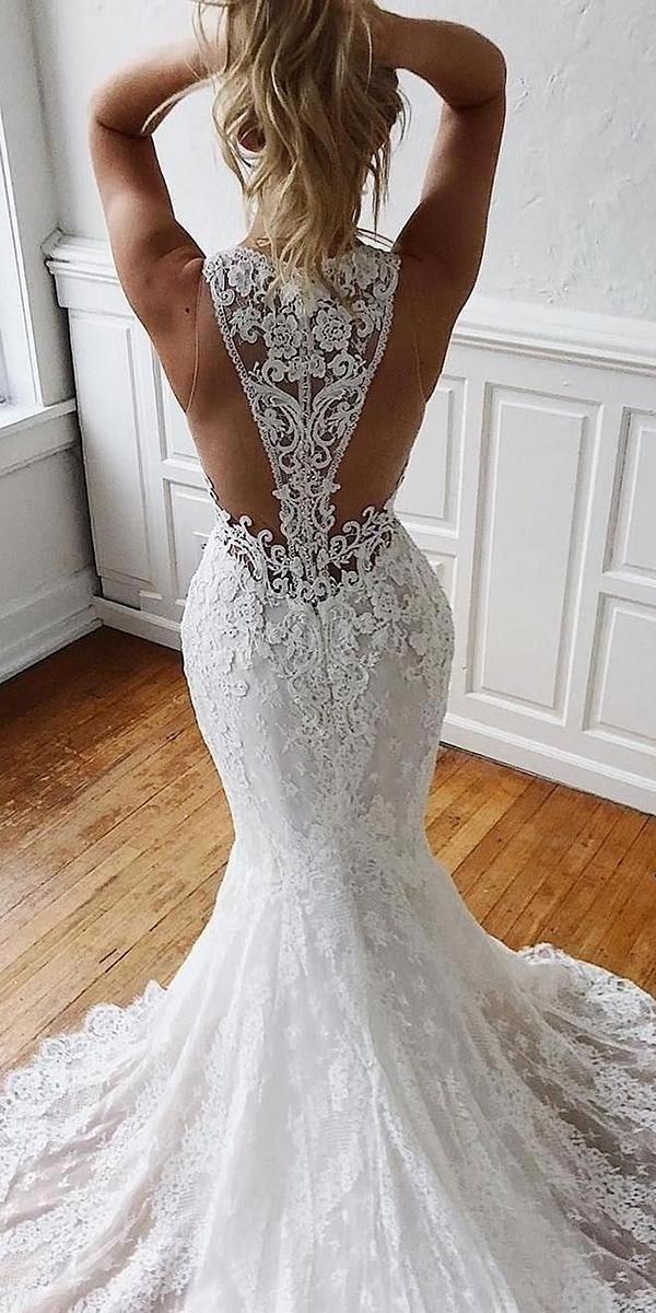 vestidos de noiva sem encosto em forma e ilusão com illusi  tendências de jóias de moda  vestidos de noiva sem encosto em forma e brilho com illusi