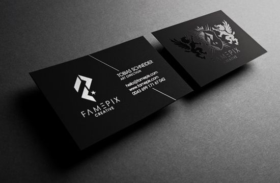 impressive examples of business cards designs business cards