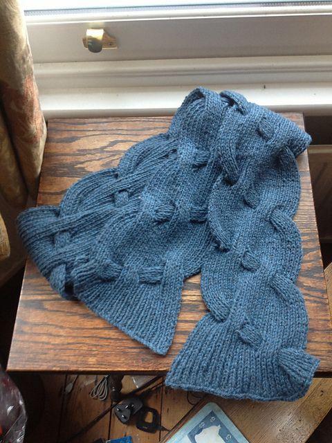 Ravelry: hanwellknitter\'s Dovedale Scarf Sample   Knitting ...