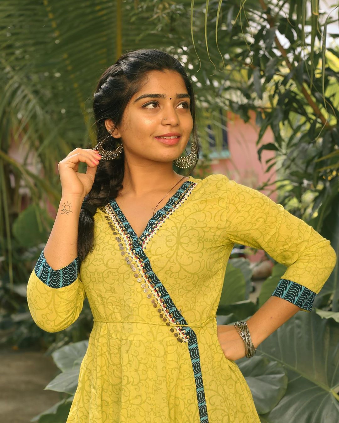 59 1k Likes 246 Comments Gouri G Kishan Gourigkofficial On Instagram A Well Cared For Ruin Fashion Dresses Casual Frock For Women Kalamkari Dresses