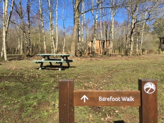 Come to Finlake and enjoy a #walk around our Barefoot Walk
