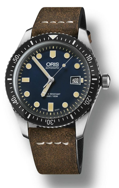 TimeZone : Industry News » N E W M o d e l - Oris Sixty-Five Diver 42 Dark Blue