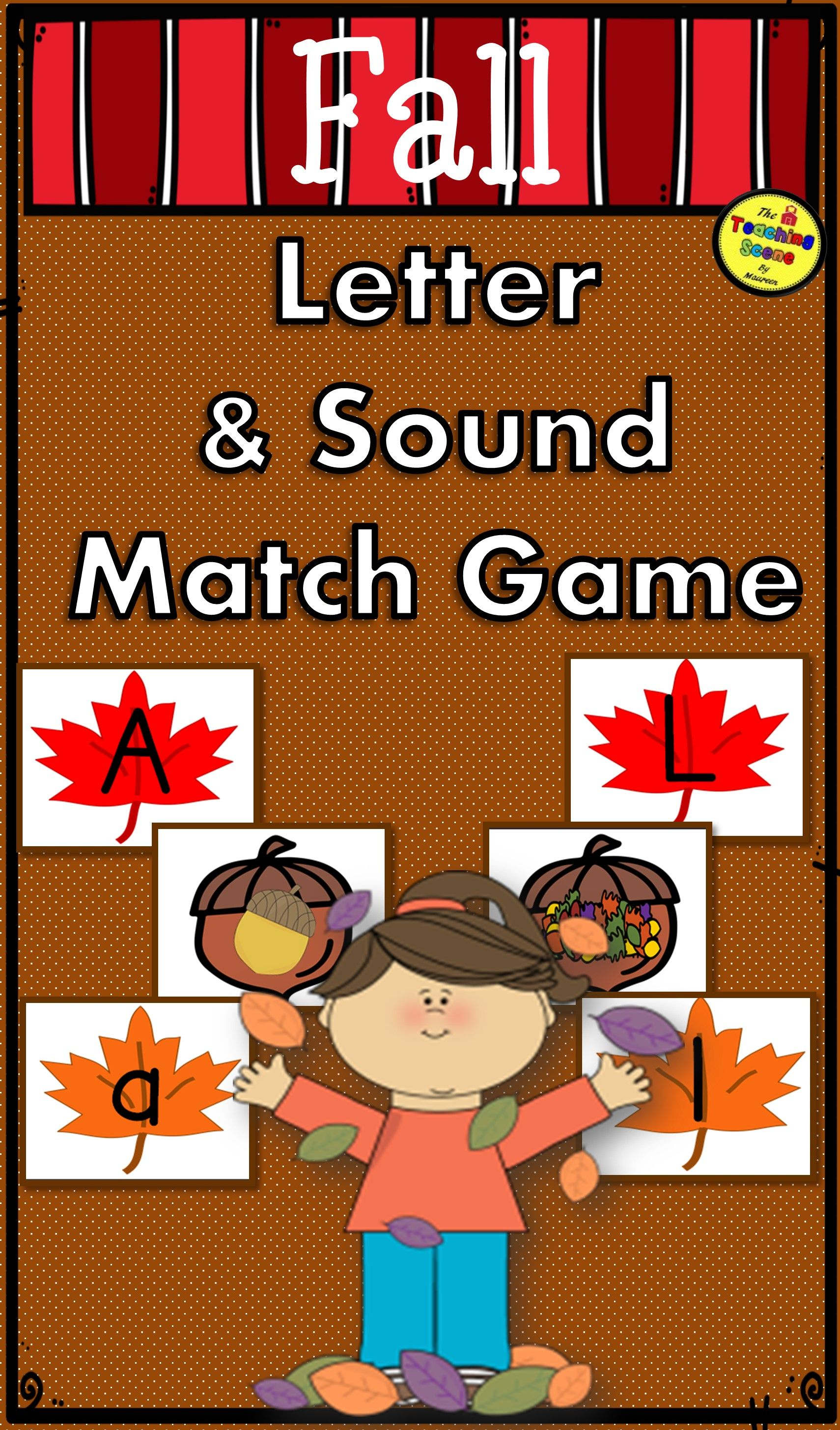 Fall Letter Amp Sound Match