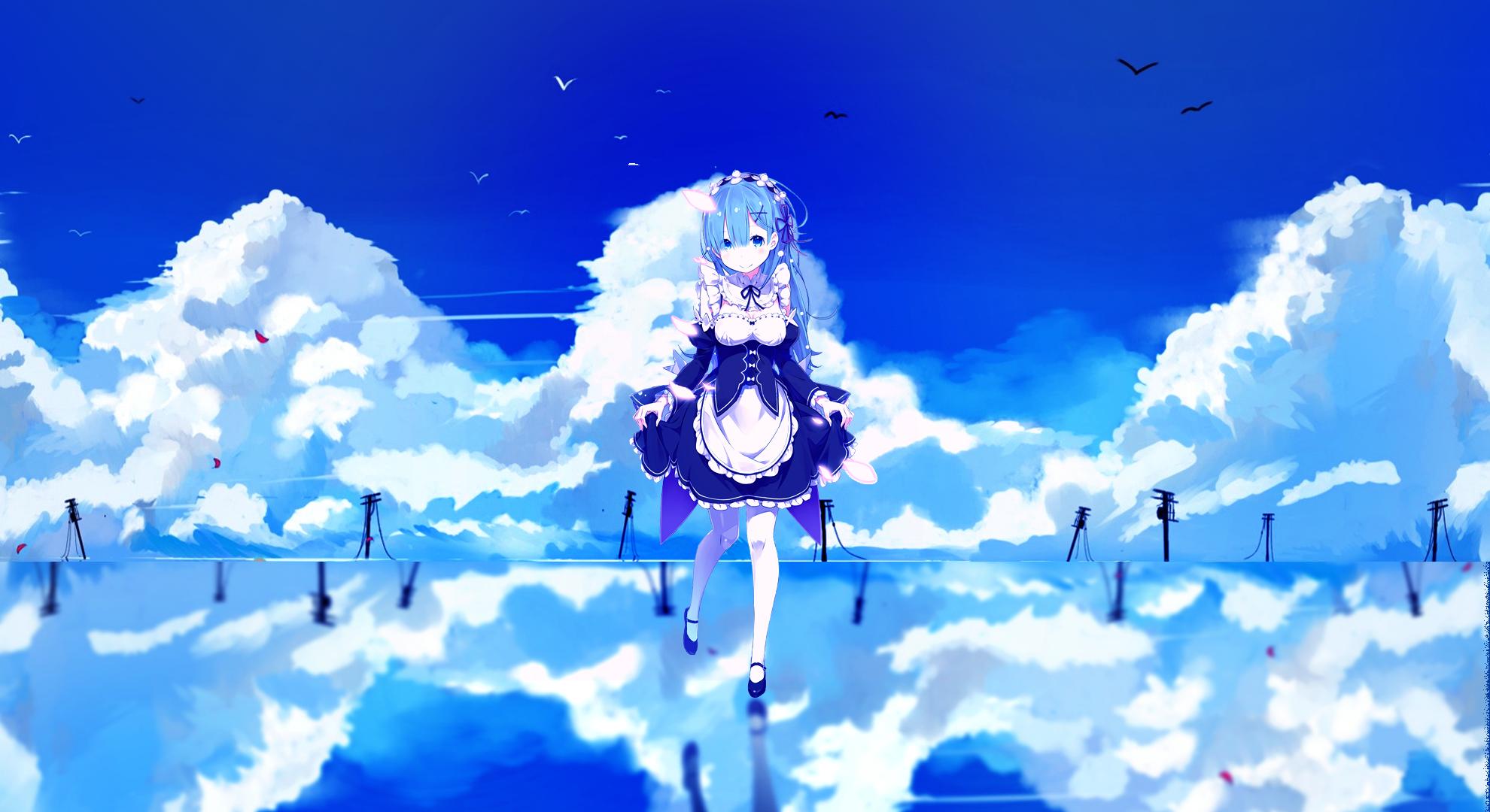 レム background レム 雷姆 Rem Re Zero kara Hajimeru Isekai