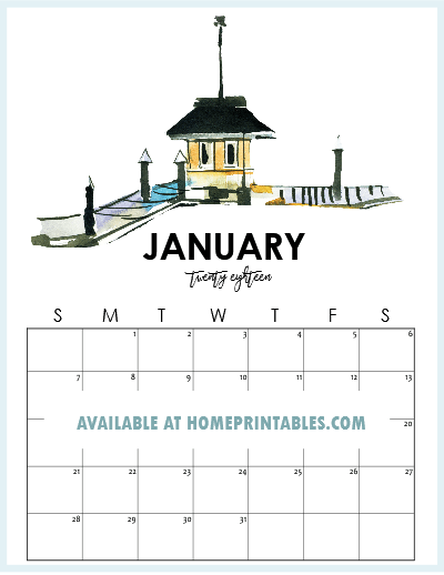print your free january 2018 calendar now