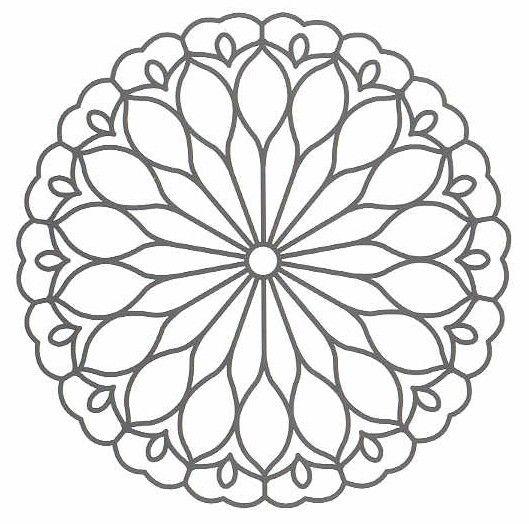 patron de mandala Mandala Pinterest Mandalas, Mandala art y