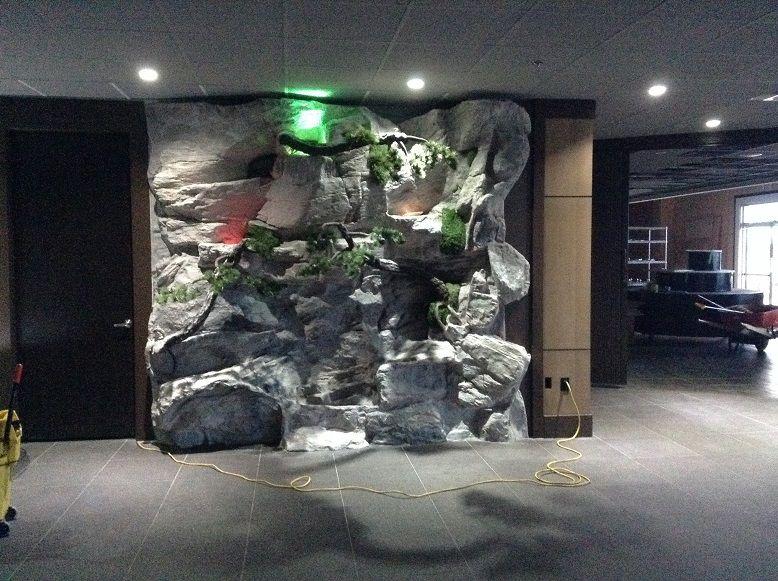 Indoor Artificial Rock Rock Waterfall Rock Fountain Artificial