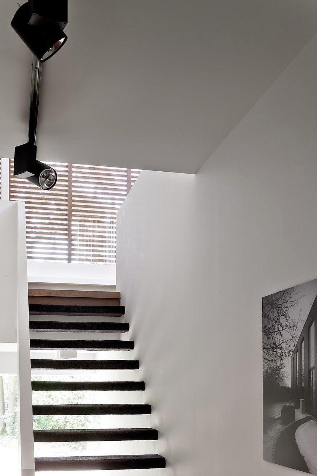 Modern Villa In Antwerp Belgium Stairs And Doors Exterior