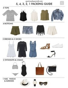 Kofferpacken mit Pinterest #summercruiseoutfits