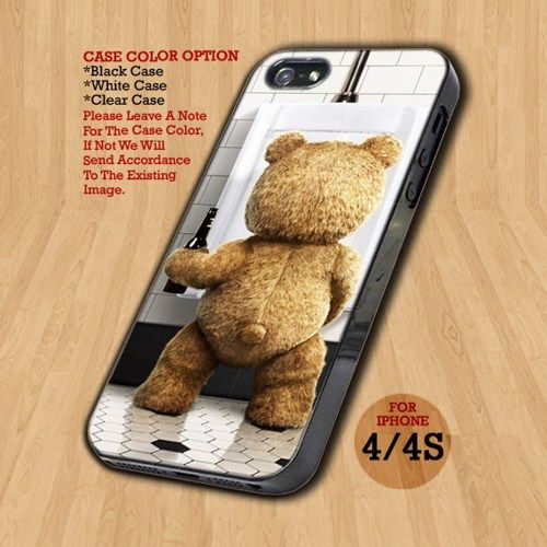Ted The Movie Funny - Design on Hard Case For iPhone 4/4S Case