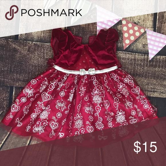 ce7d51e40005 Toddler girls red Christmas dress 24 months/ 2T Dresses Formal | My ...