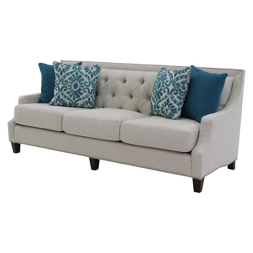 The Modern Classic Style Of The Drisy Sofa Features Polyester And