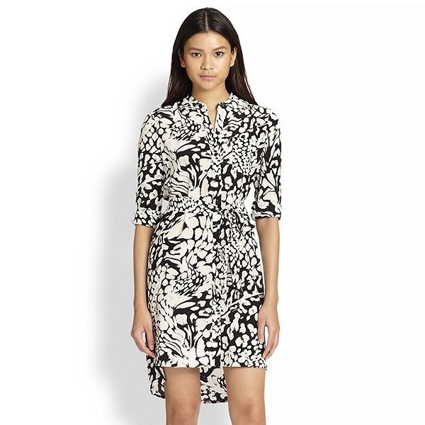 Diane Von Furstenberg Sleeveless Printed Fit-and-Flare Dress