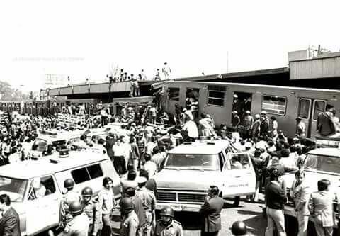 Hace 41 años, dos convoyes del Metro chocaron en la estación Viaducto con dirección al sur. El saldo oficial de este accidente fue de 31 muertos y 71 heridos.