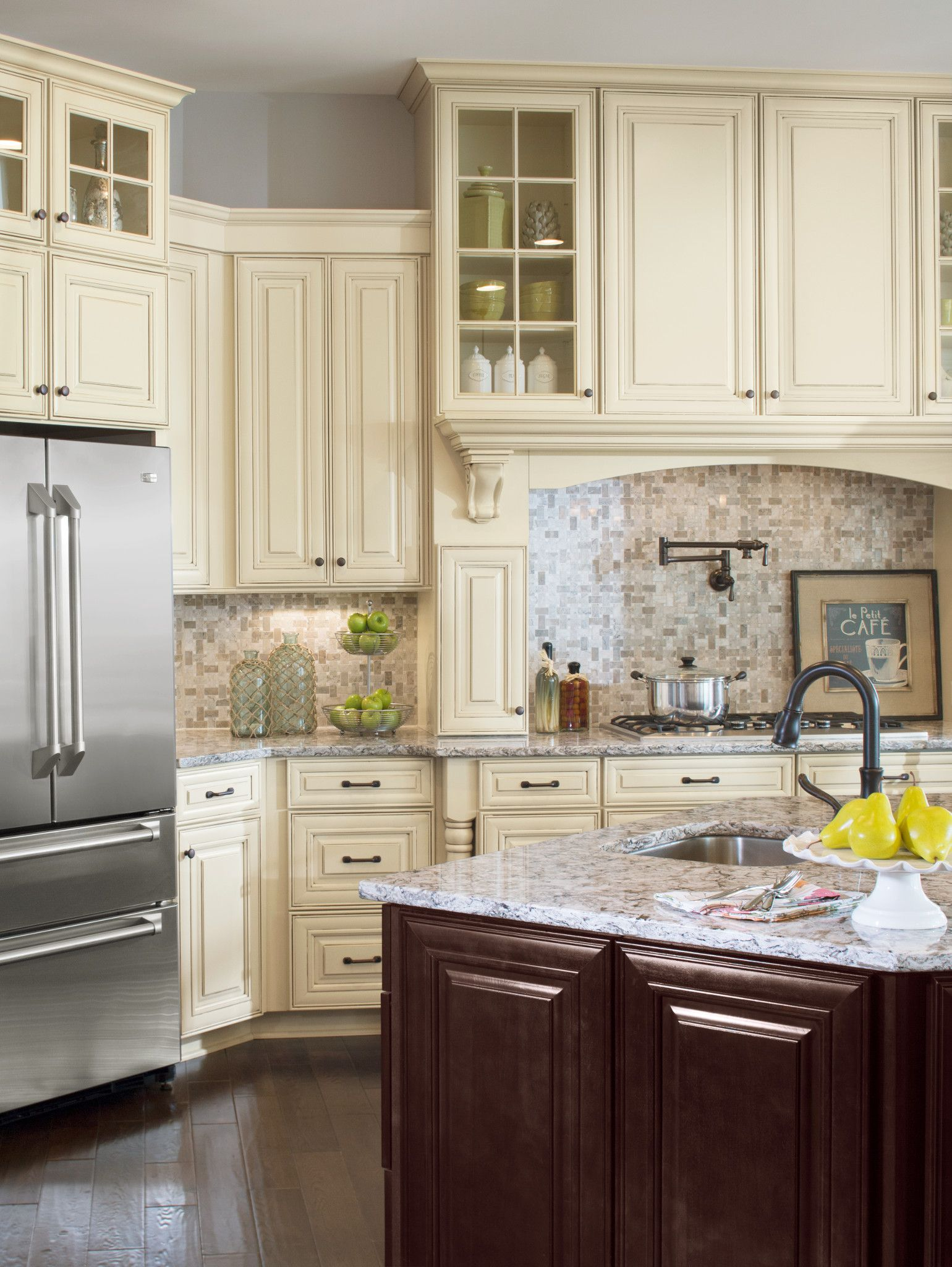 Rushmore Painted Hazelnut Cabinets From 84 Design Studios Cool Kitchen Cabinet Packages Design Ideas