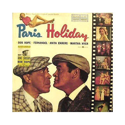 """""""Paris Holiday"""" (1958, United Artists). Music from the movie soundtrack."""