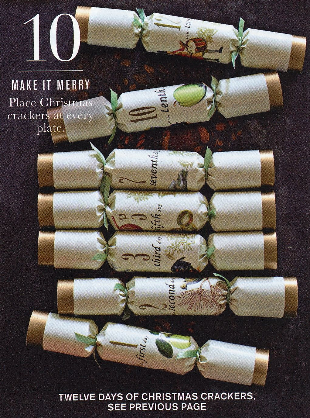 Williams Sonoma Christmas Crackers.Christmas Crackers William Sonoma Fun For The Table They