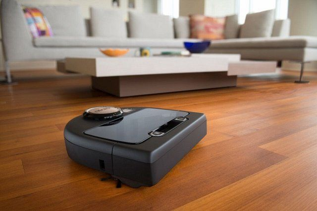 Most advanced robot vacuum-cleaners.
