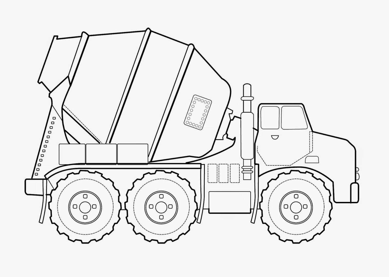 Transportation Coloring Pages For Preschool Kindergarten And