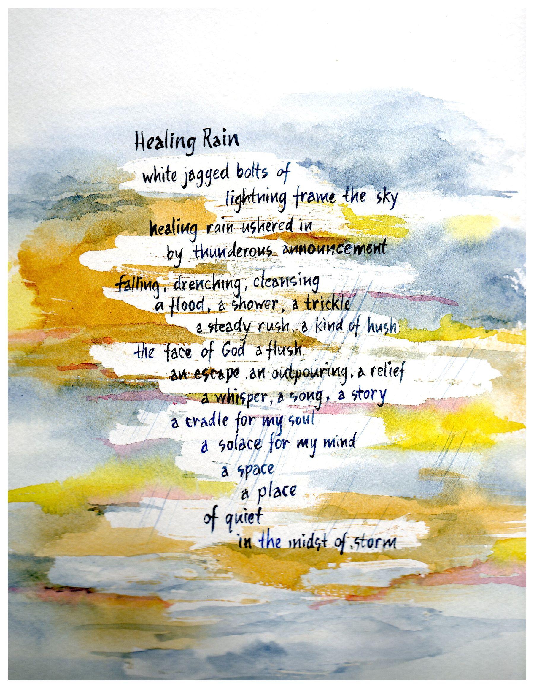 """Healing Rain"" by Dianne Polome"