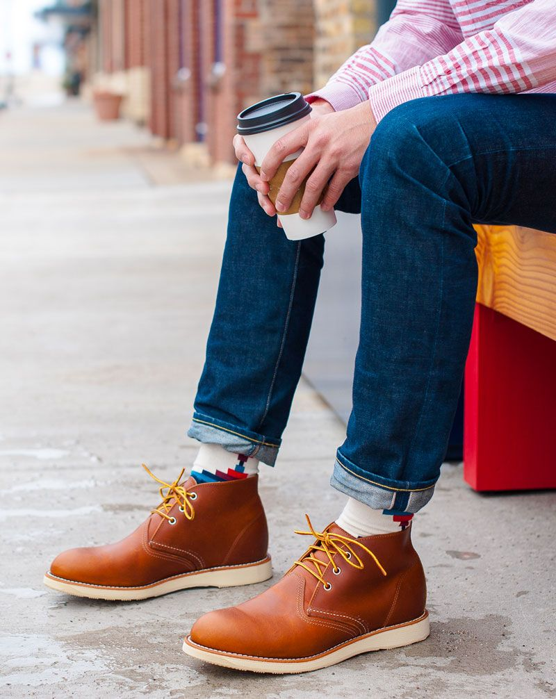b4f815c4dd6 The Red Wing Heritage Work Chukka. | g e n t s | Mens boots fashion ...