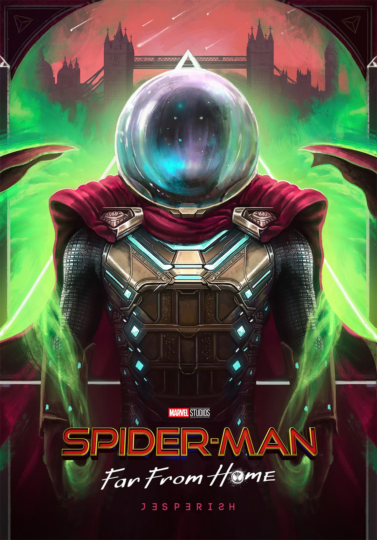 Spider-man Far From Home Marvel Teaser Large Movie Poster Canvas OR Photo Paper