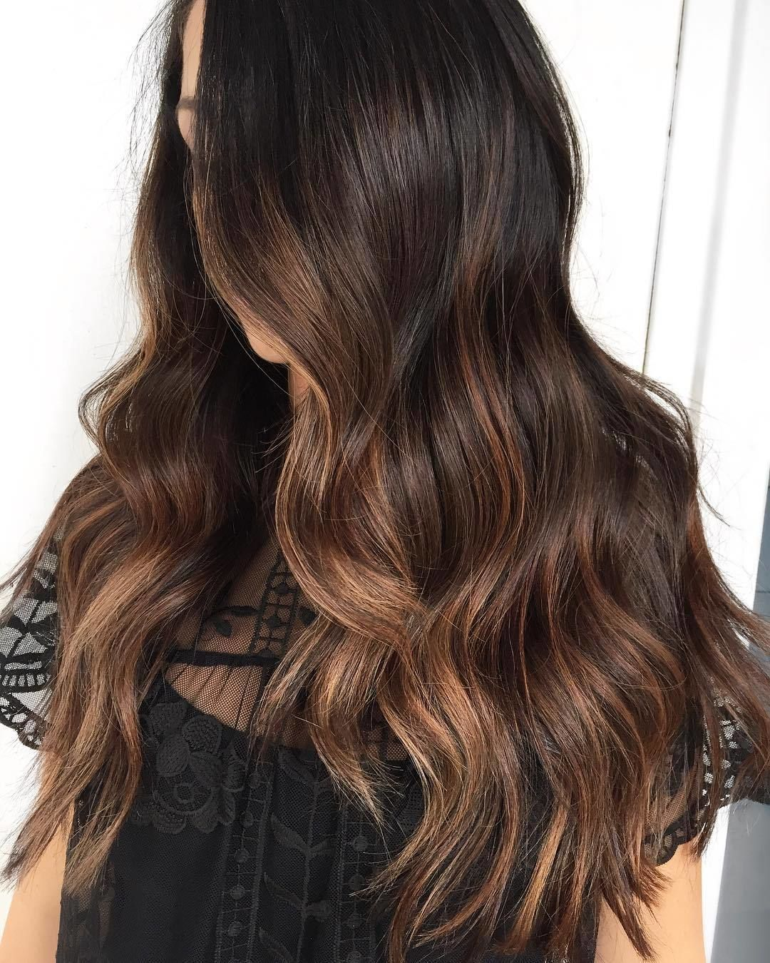 caramel espresso #lookdujour #ldj #waves #wavyhair #hair #brunette