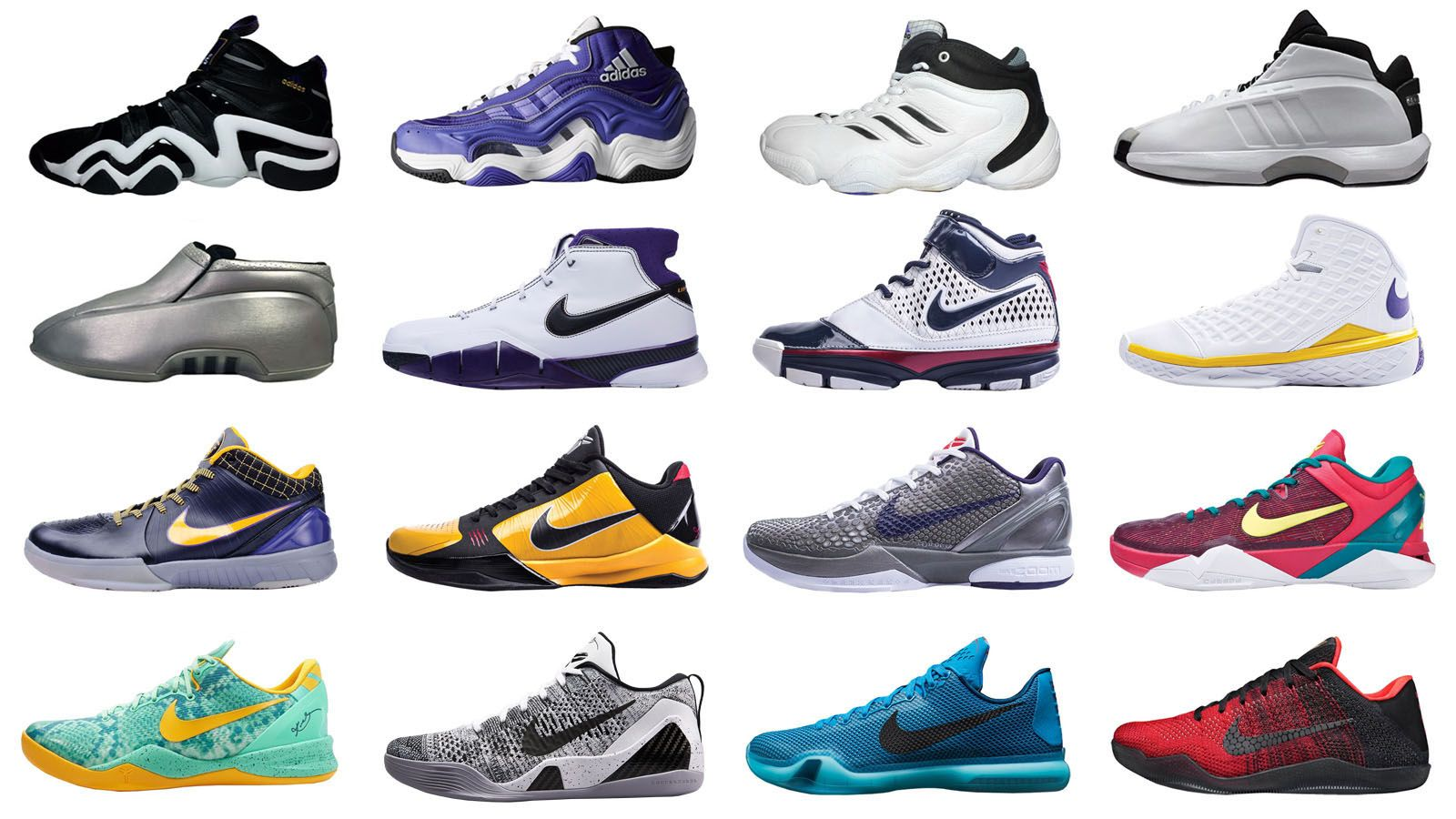 pretty nice 4f944 bf6ba Ranking Every Signature Sneaker Kobe Bryant Has Ever Had