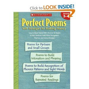 Perfect Poems With Strategies For Building Fluency Grades 3 4