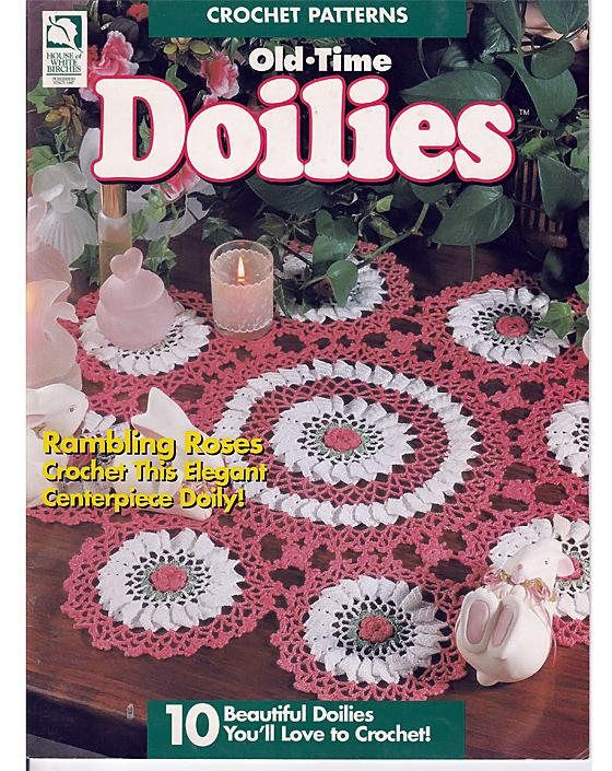 Old Time Doilies To Crochet Pattern Book House Of White Dainty